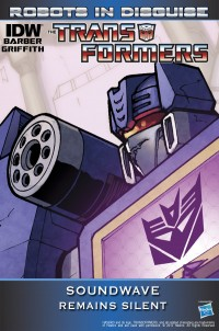 "Transformers News: Exclusive Transformers: Robots in Disguise Promo Image ""Soundwave Remains Silent"""