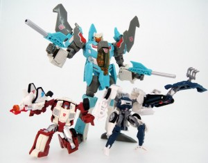 Takara Tomy Transformers Legends LG08 Tailgate and Swerve and LG09 Brainstorm Images