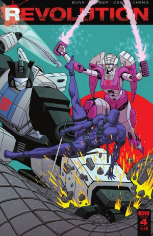 Transformers News: Full Preview of IDW Revolution #4 (of 5)