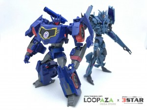 In-Hand Images of Transformers Robots in Disguise Combiner Force Soundwave