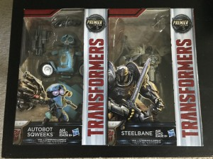 Transformers: The Last Knight Sqweeks and Steelbane Sighted at US Retail