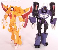Transformers News: New Toy Galleries: Animated Sunstorm and Purple Shockwave