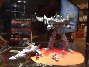 Transformers News: Wonderfest 2015 - Takara Tomy Diaclone Reboot
