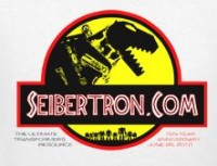 Transformers News: Seibertron 10-Year Anniversary Exclusive T-Shirts