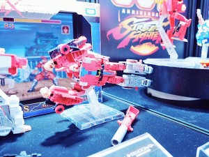 Transformers News: Transformers X Street Fighter II Figures on Display at Tokyo Comic Con 2017