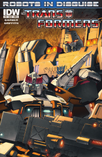 Transformers News: Transformers: Robots in Disguise Ongoing #14 Preview