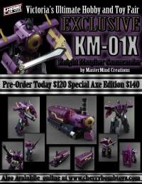 Transformers News: KM-01X Commander Images