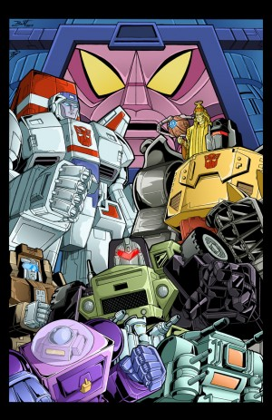 Transformers News: BotCon 2016 Art Prints: Brandy Dixon on Gregg Berger and Rainmakers