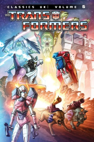 IDW Transformers Classics UK Volume 6 Cover Artwork