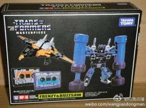 Transformers News: Buyer Beware: KO MP-16 Frenzy & Buzzsaw Sets Beginning to Appear In Markets