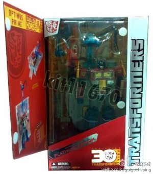 Transformers News: First Look at Packaging of Year of the Horse Optimus Prime, Small Glimpse at YotH Starscream