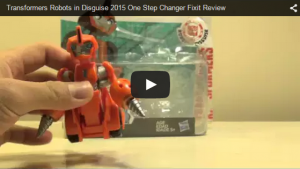 Robots in Disguise One-Step Fixit Video Review