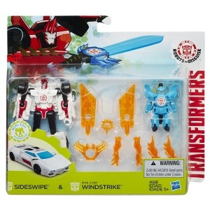 Transformers: Robots in Disguise Sideswipe and Windstrike Battle Pack Available Now