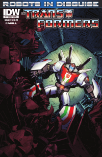 Transformers News: Transformers: Robots in Disguise Ongoing #7 Preview