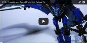 Transformers News: Age Of Extinction Deluxe Strafe Video Review