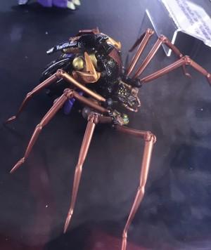 MP-46 Masterpiece Blackarachnia Spider Beast Mode Revealed