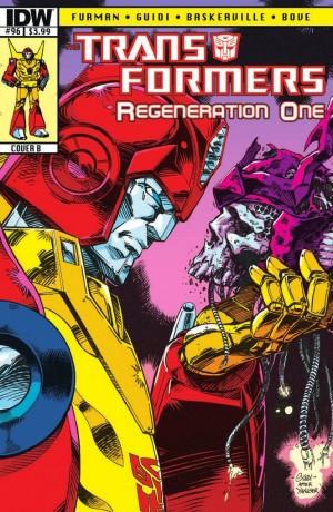 Transformers: ReGeneration One #96 Script (W)Rap
