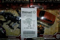 Transformers News: Possible Transformers ROTF sale at WalMart