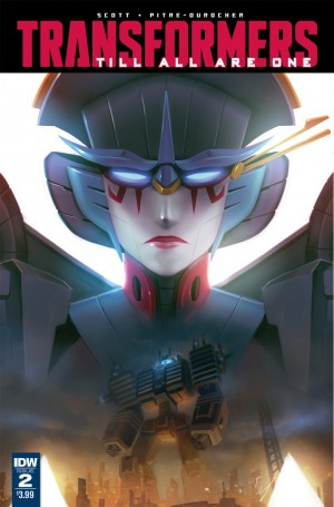 Transformers News: Interview with Mairghread Scott on IDW Transformers: Till All Are One