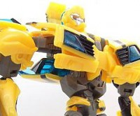 Transformers News: Transformers Prime Robots in Disguise Deluxe Bumblebee gallery
