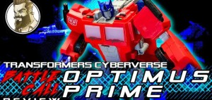 New Video Review of Transformers Cyberverse Battle Call Optimus Prime
