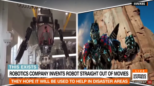 Transformers News: Footage of South Korean Emergency Response Transformers-Inspired Mech-Suit