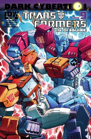 Transformers News: Sneak Peek - Transformers: Robots in Disguise #26 iTunes Preview