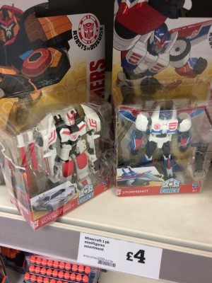 Transformers Robots in Disguise Combiner Force Wave 1 Sighted at UK Retail