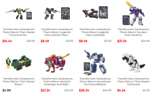 Steal of a Deal: Hasbro Toy Shop Discounts on Select Figures!