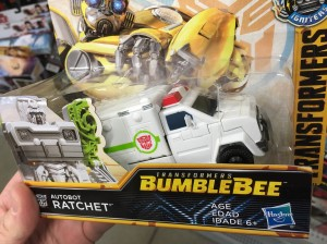 Never Revealed Bumblebee Movie Power Series Ratchet Found in US