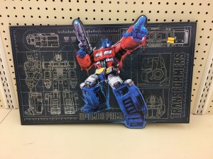 Transformers News: Two-Foot Wooden Optimus Prime Sign at Hobby Lobby, Plus Online Sale