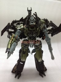 Transformers News: Images of Cancelled Voyager Class Megatron From Hunt For The Decepticons Megatron Rising Set