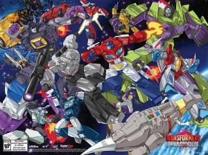 Activision Transformers: Devastation SDCC 2015 Guido Guidi Poster