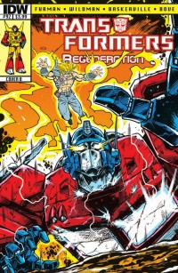 Transformers News: ReGeneration One Issue 0 - Teasers and Spoilers