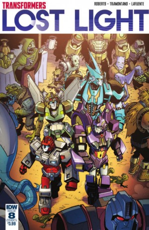 Full Preview for IDW Transformers: Lost Light #8