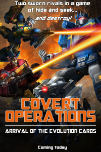 "Transformers News: New Transformers: Legends Event ""Covert Operations"""