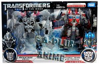 Transformers News: In-Package Image: Asian Exclusive Transformers Dark of the Moon Leader Class Optimus Prime & Megatron Two-Pack