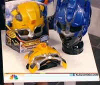 Transformers News: See TF3 in 3D as Bumblebee or Optimus Prime with Cine-Masks