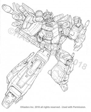 New Transformers Generations Combiner Wars Concept Art of Leader Megatron and Starscream from Marcelo Matere