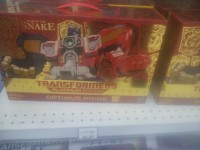 Transformers News: Platinum Series - Year of the Snake Optimus Prime Sighted at Canadian Retail