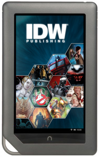 Transformers News: IDW and Barnes & Noble Partner to Bring Graphic Novels to NOOK