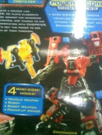 Transformers News: New pictures (and info) on PowerCore Combiners