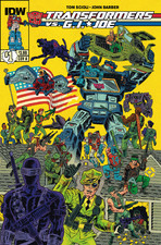 Transformers News: Sneak Peek - Transformers vs. G.I. Joe #1