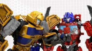 "Transformers News: New Construct-Bots Video: ""Bumblebee Speaks"""