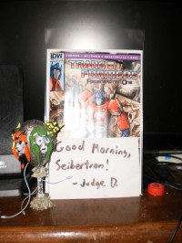 Transformers News: Summary of IDW's Transformers Regeneration One #80.5