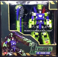 TFC Toys Dr. Crank In-Package Images