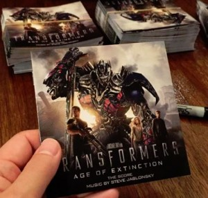 Transformers News: Transformers Age of Extinction Score Available October 7