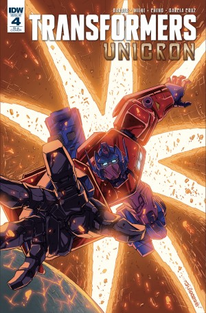 Transformers News: Variant Covers for IDW Transformers: Unicron #4 by Guidi and Francavilla