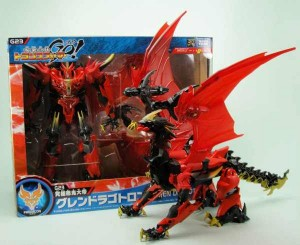 Transformers News: New Images of Takara Tomy Transformers Go! G23 Guren Dragotron