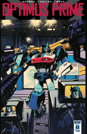 Full Preview for IDW Optimus Prime #8
